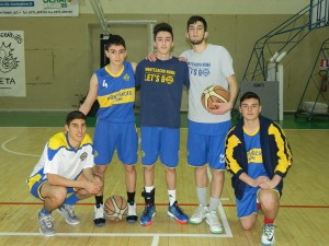 Giocatori Under 17 elite Montesacro Roma