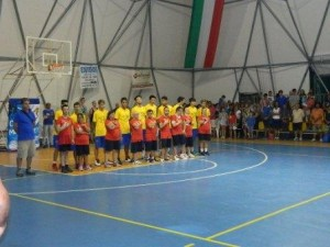 Basket Itri con i ragazzi del Basket for ever